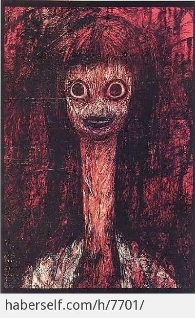 Korkutucu tablolar 8 yuko tatushima nin tablosu